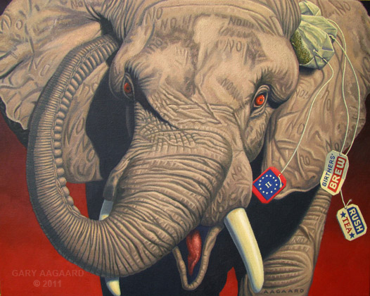 "Gary Aagaard ""Tea for the Yellerphant"""